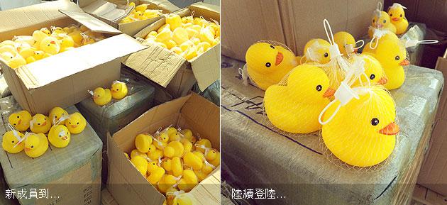 黃色小鴨登陸