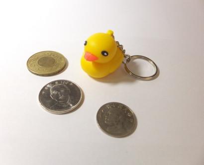 黃色小鴨鑰匙圈
